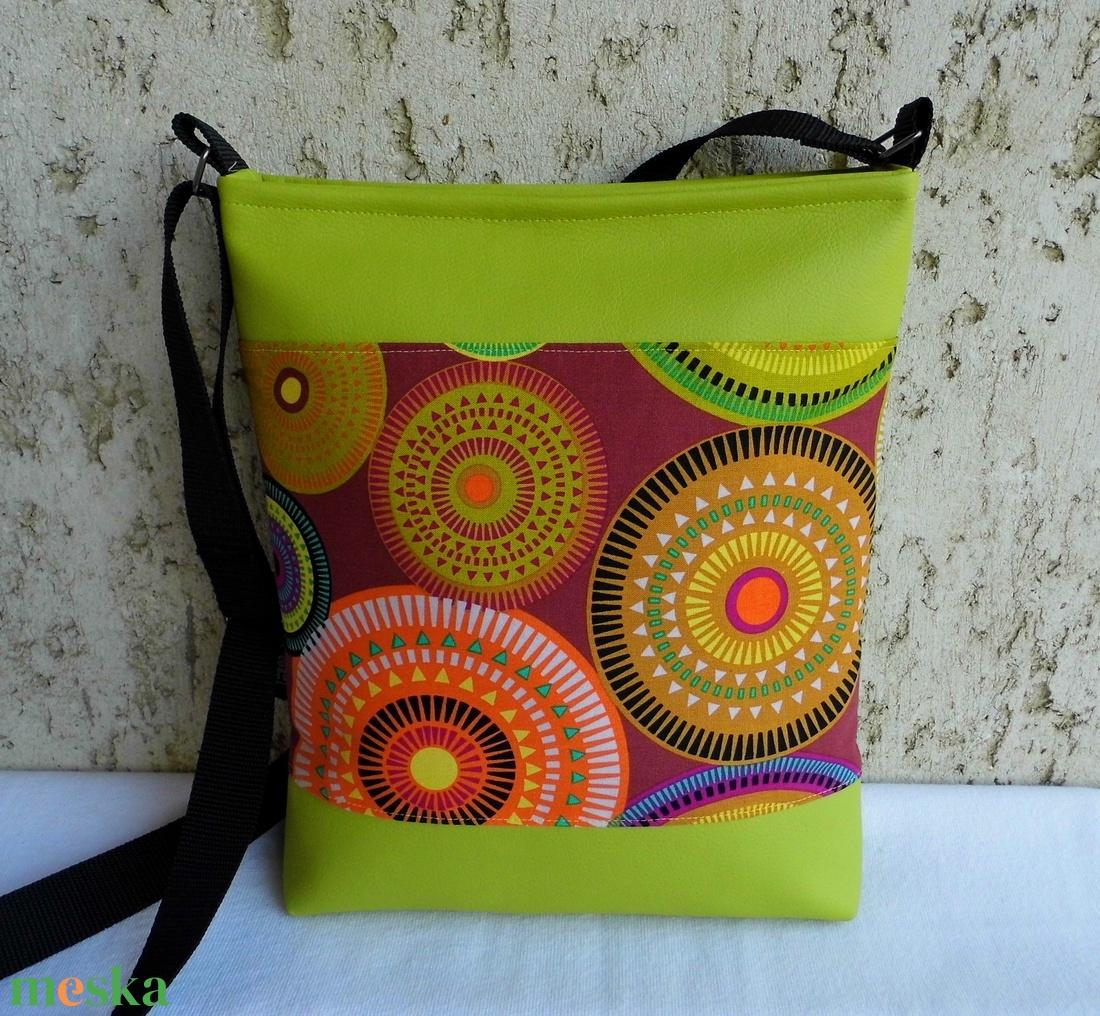aurora borealis - női táska   lime (smagdi) - Meska.hu 5a0895e47e