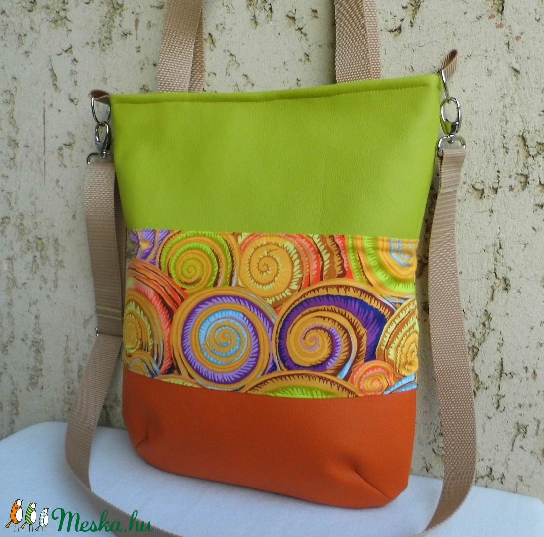 Vidám csigás női táska (smagdi) - Meska.hu 4cc8e44e27