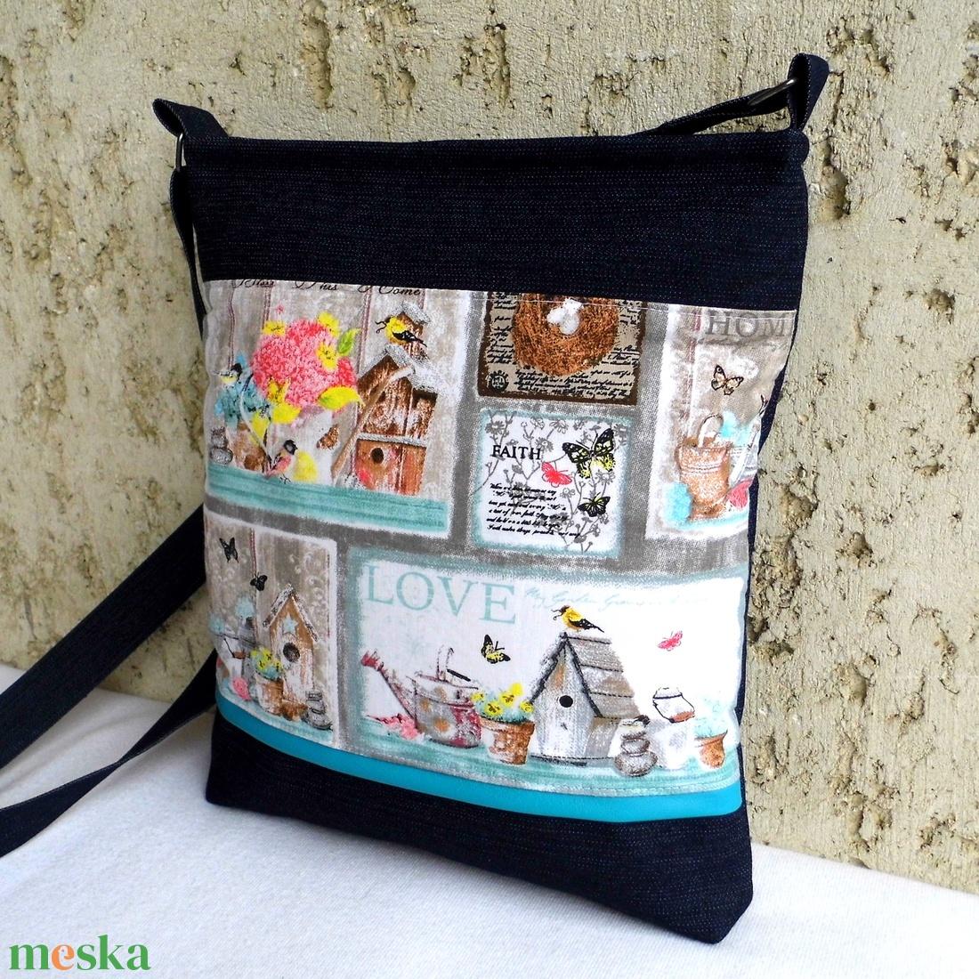 Vidéki romantika - női táska (smagdi) - Meska.hu 01c52920a1