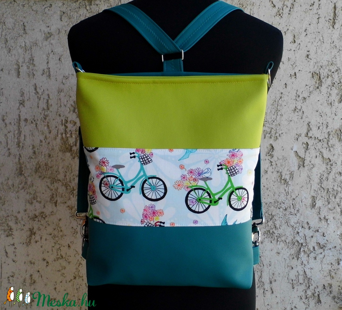 Biciklis hátitáska   válltáska (smagdi) - Meska.hu 0f0f0c75c7