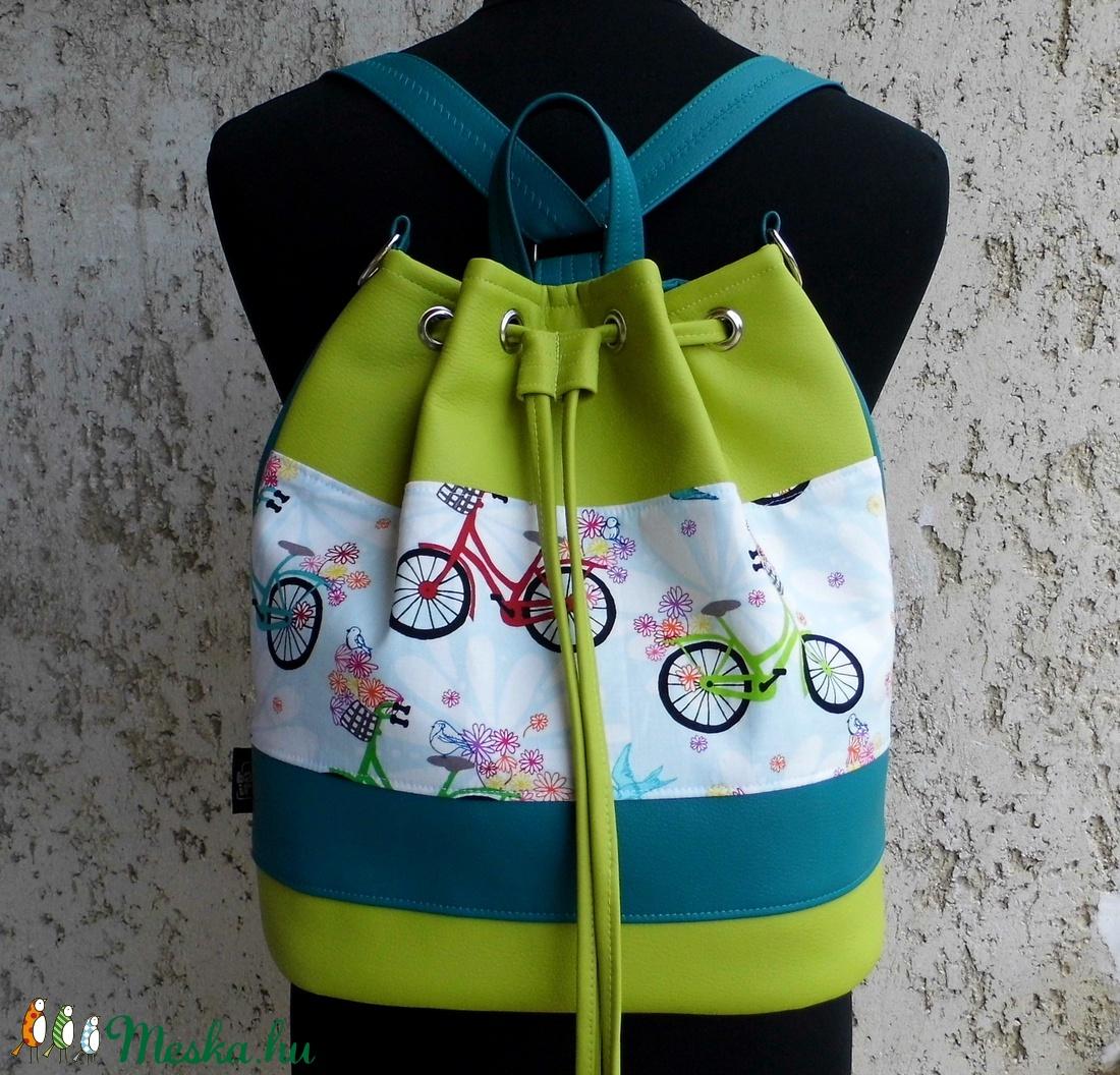 Biciklis hátizsák   batyu (smagdi) - Meska.hu c406ef0396
