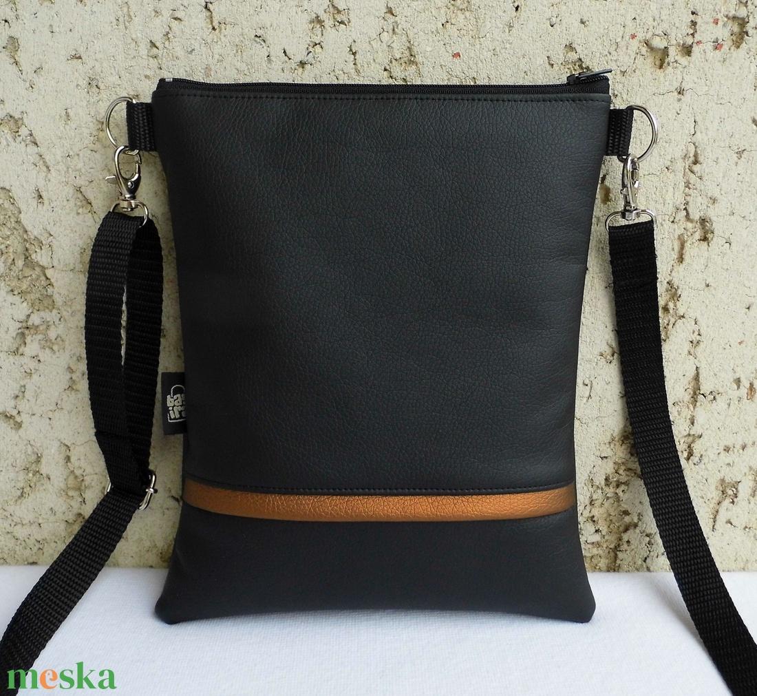 Fekete női táska (smagdi) - Meska.hu 64f251eca1