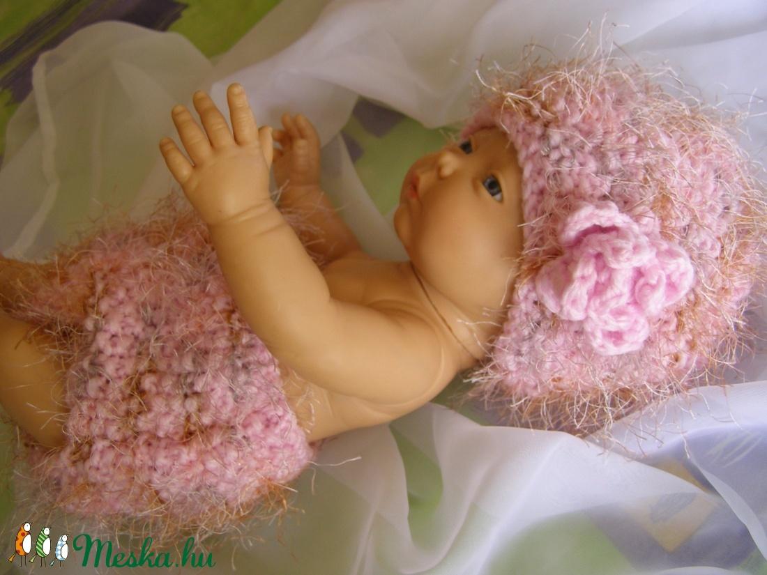 Pihe-puha szett babafotózásra... / Szuper áron! / - ruha & divat - babaruha & gyerekruha - babafotózási ruha és kellék - Meska.hu