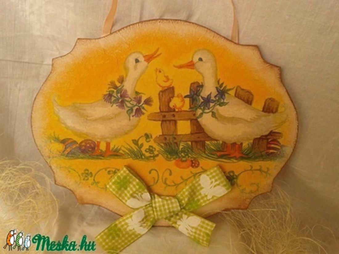 Húsvéti ajtódísz (Steigusz) - Meska.hu