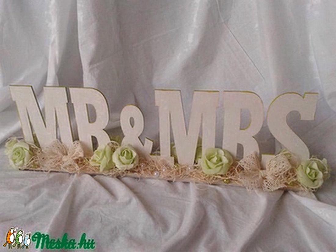 Vintage esküvői asztaldísz - esküvő - dekoráció - asztaldísz - Meska.hu