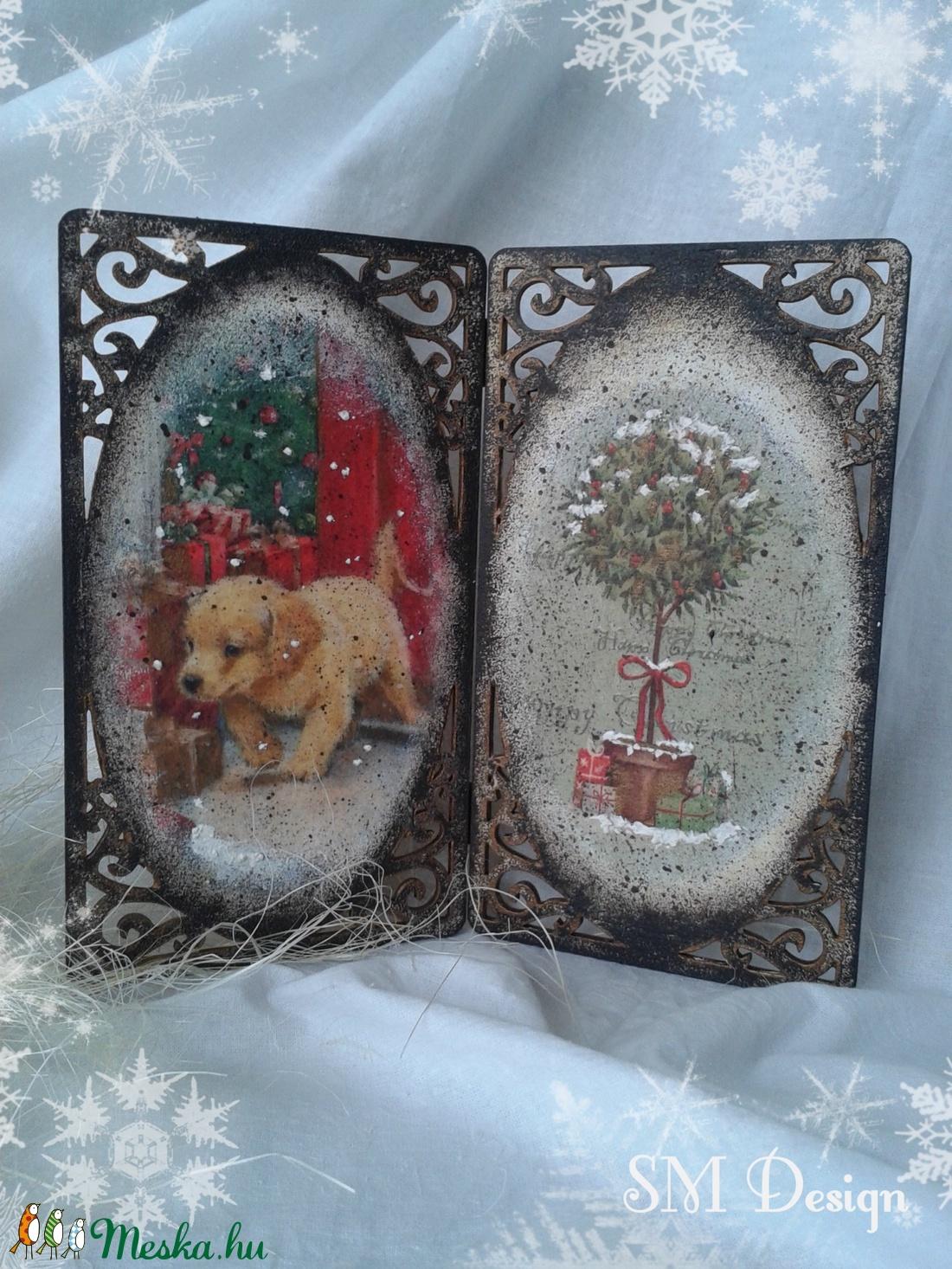 Karácsonyi kép (Steigusz) - Meska.hu