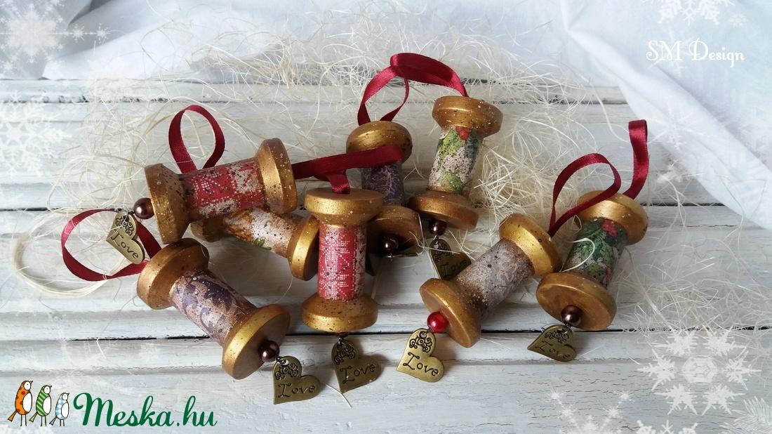Rusztikus karácsonyfadísz  (Steigusz) - Meska.hu