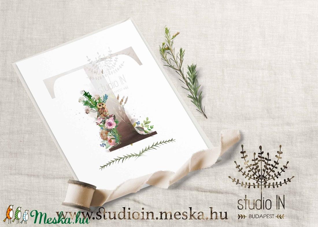 névnapi köszöntő lap Születésnapi képeslap, monogramos képeslap, névnapi köszöntő  névnapi köszöntő lap