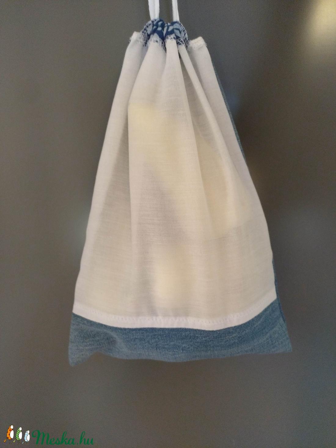 9778f6d7c2df 3 db összehúzható textil zsák, bevásárló táska, műanyag zacskó helyett.