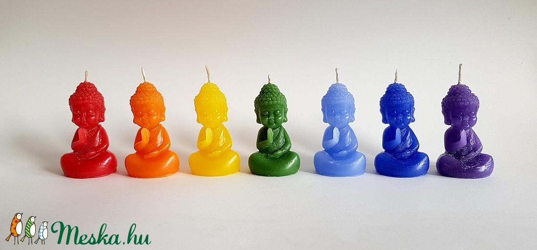 Csakra BuddhaGyerek Gyertya Kollekció (Szerelmesgyertya) - Meska.hu