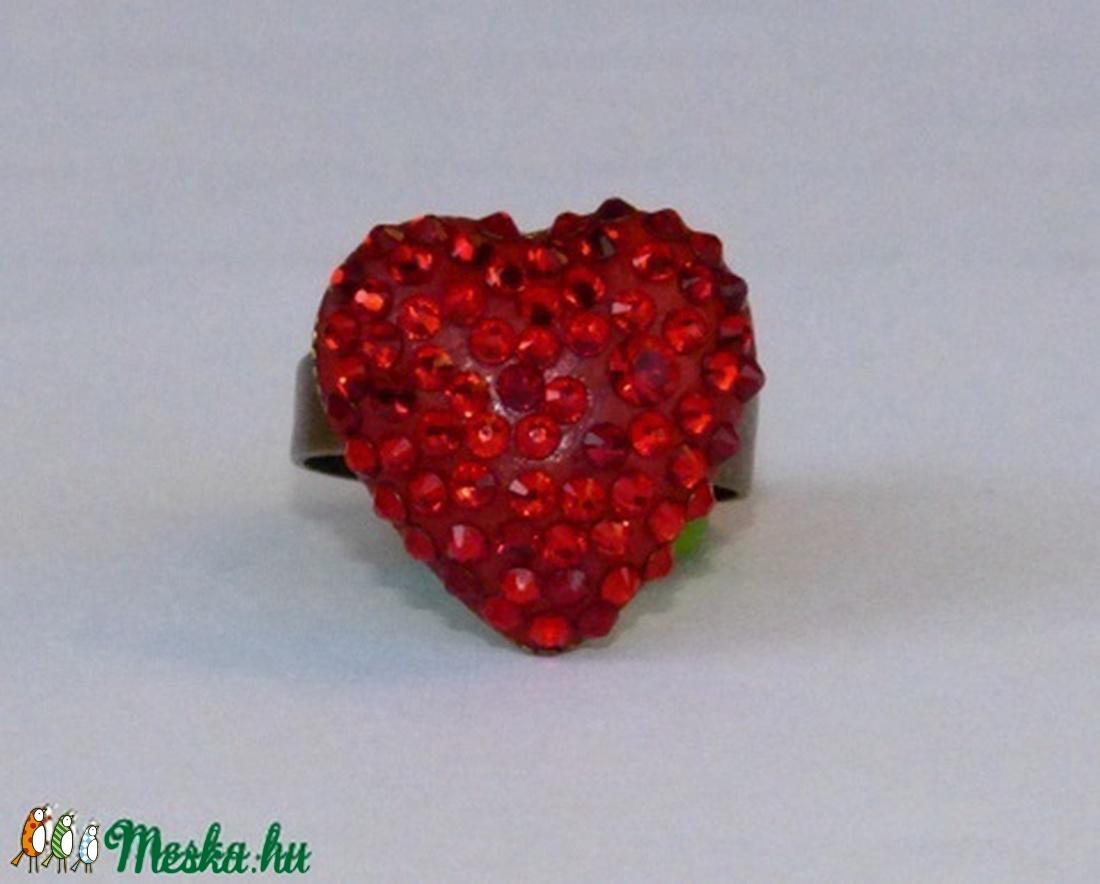 Swarovski kristály gyűrű! - ékszer - gyűrű - többköves gyűrű - Meska.hu