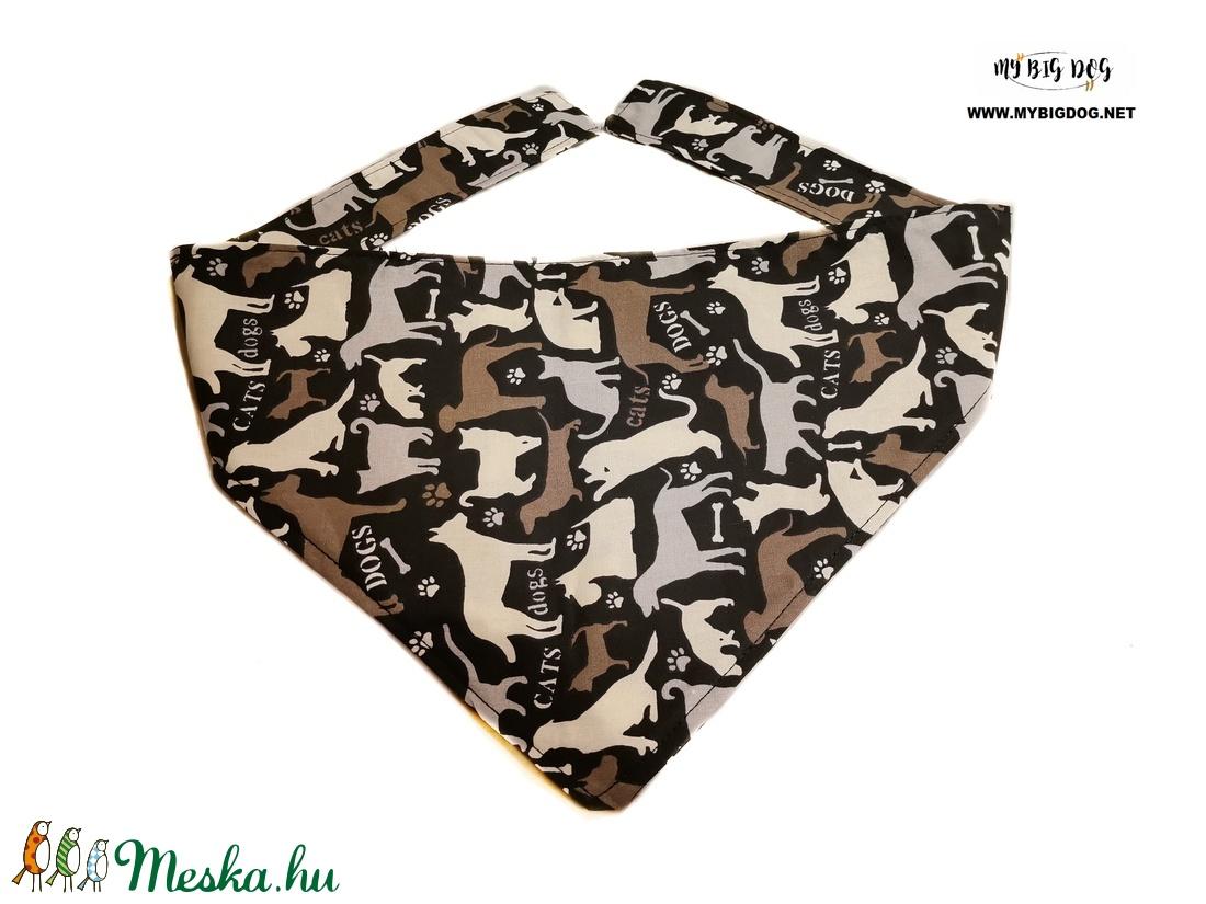Kétrétegű, minőségi, megköthető kutyakendő - otthon & lakás - kisállatoknak - kutyáknak - Meska.hu