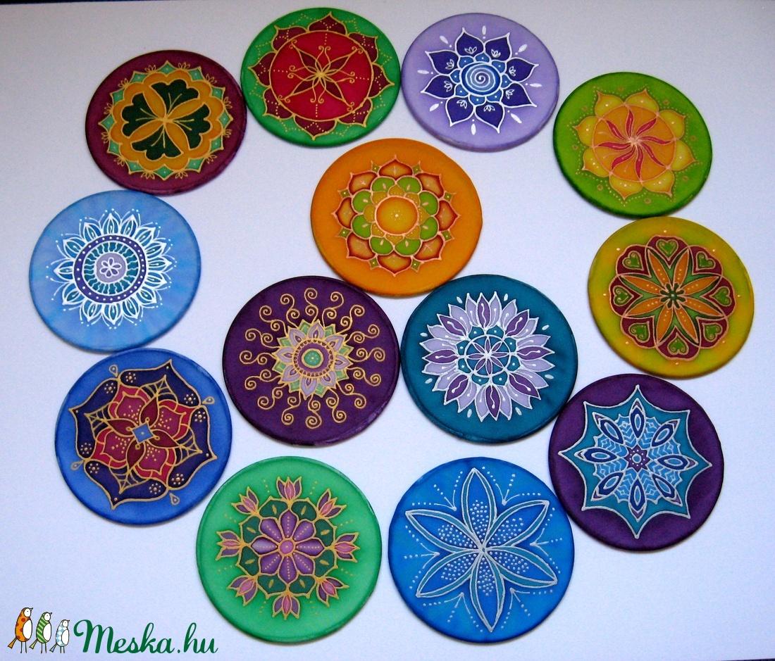 Mandala, kísérő ajándék (SzinekSzarnyan) - Meska.hu