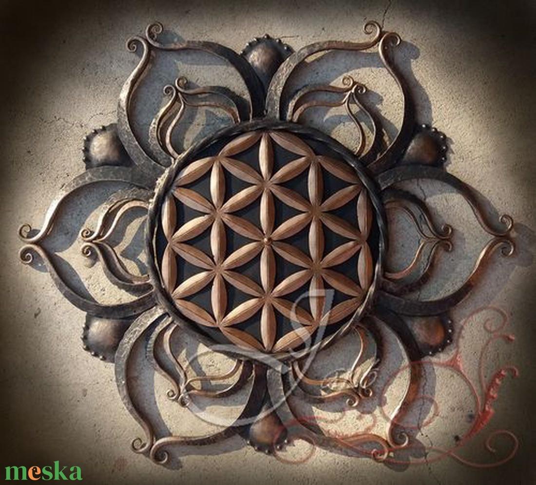 Élet virága Mandala (SzJano) - Meska.hu