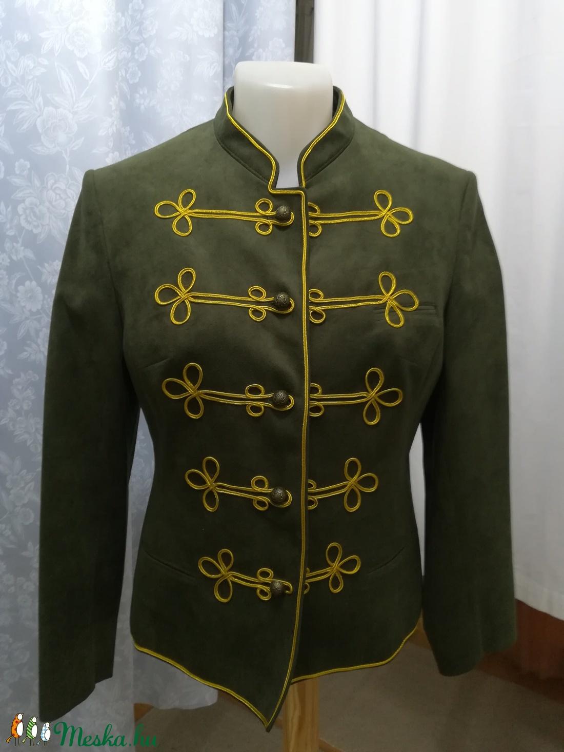 0974497557c Női Bocskai zsinóros kabát (SzucsKatalin01) - Meska.hu