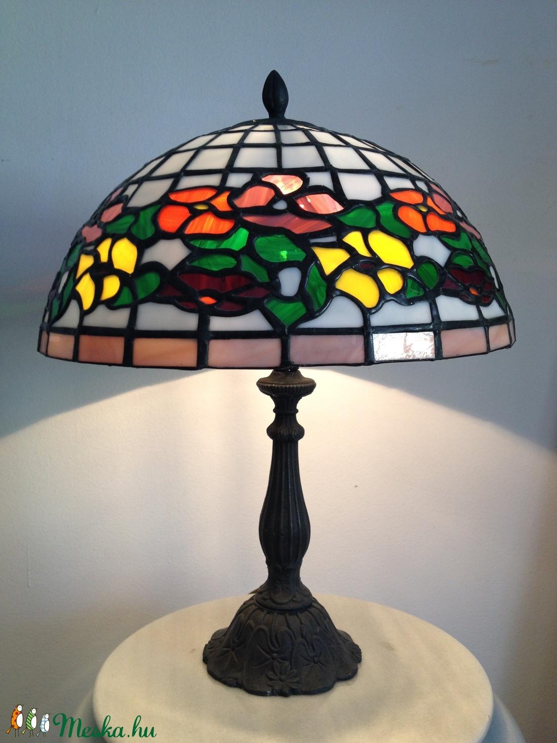 Tiffany lámpa. - otthon & lakás - lámpa - asztali lámpa - Meska.hu