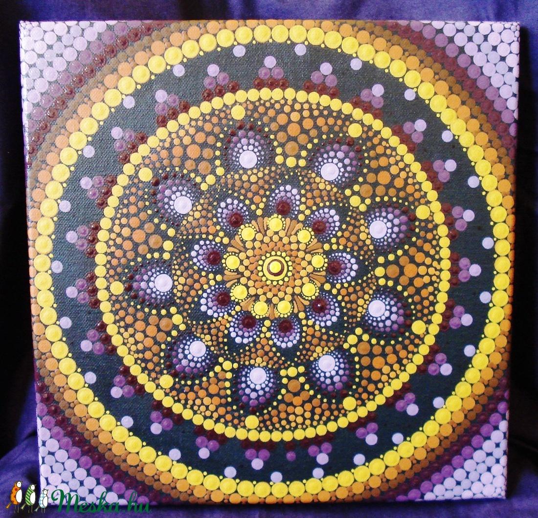 A teljesség mandalája / Mandala / Falikép, kép (tarn) - Meska.hu
