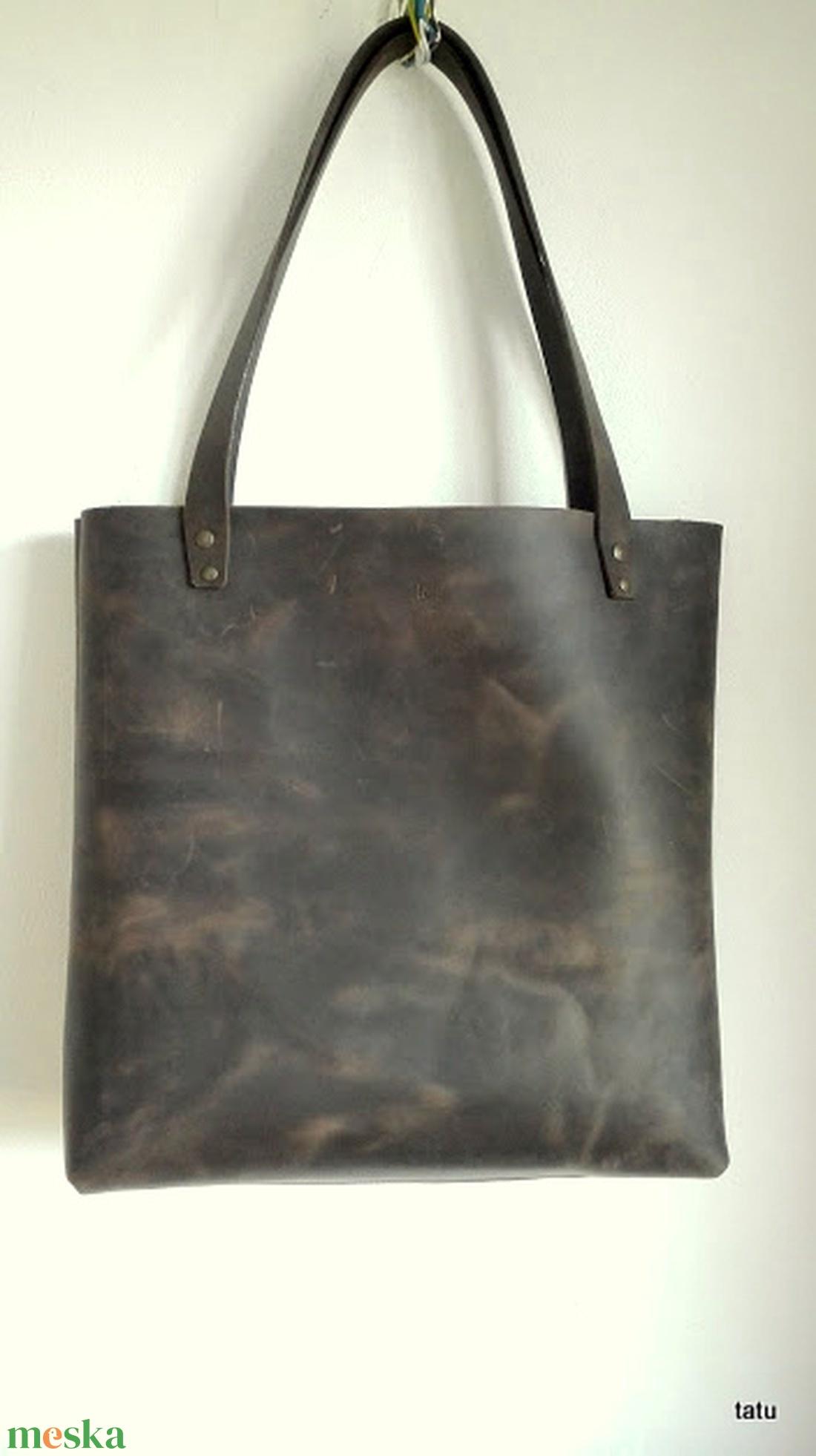 TOTE BAG bőr táska (tatuShop) - Meska.hu 73a0e51f0a