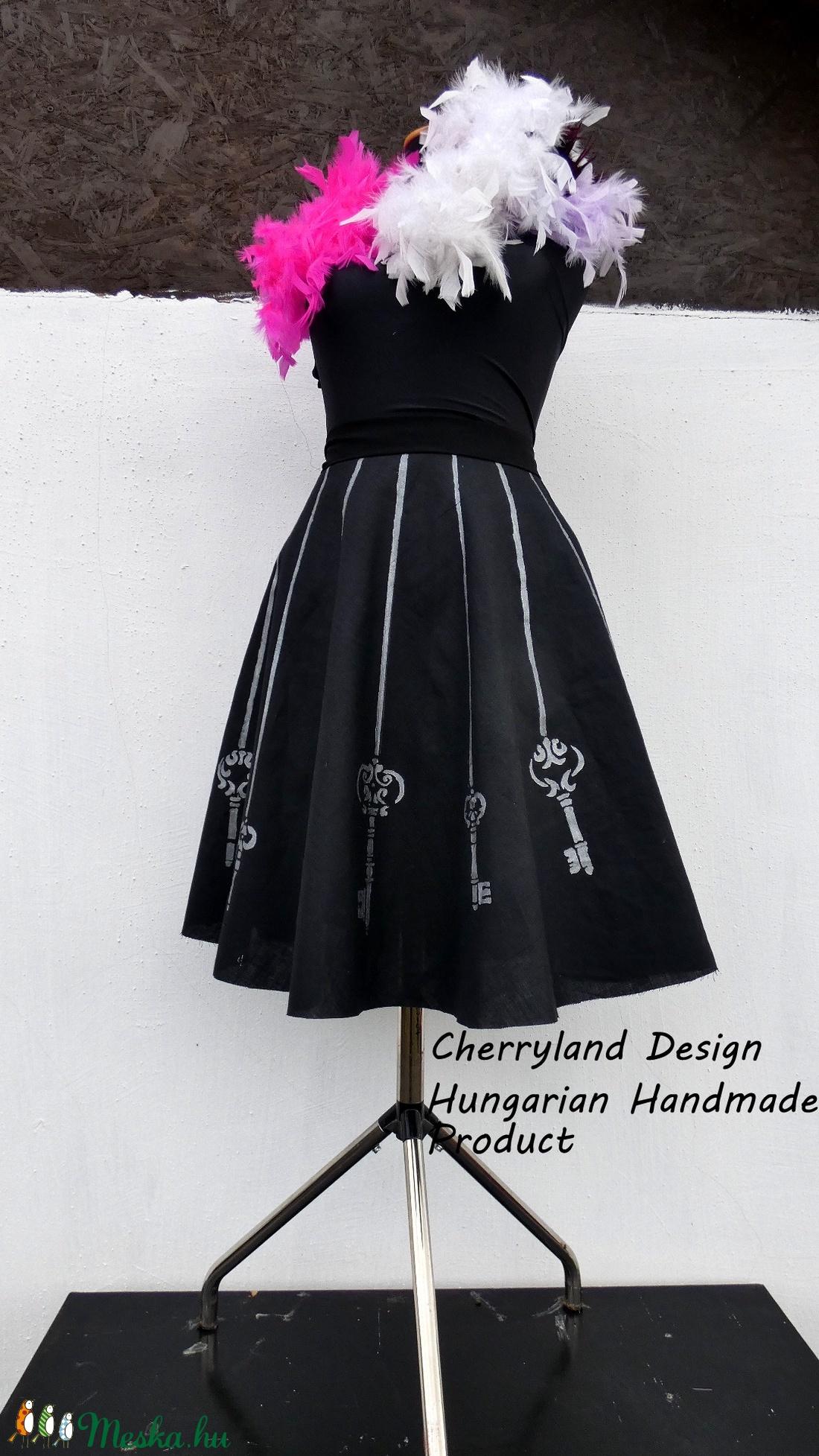 Cherryland Design Kulcsos Szoknya . - ruha & divat - női ruha - szoknya - Meska.hu
