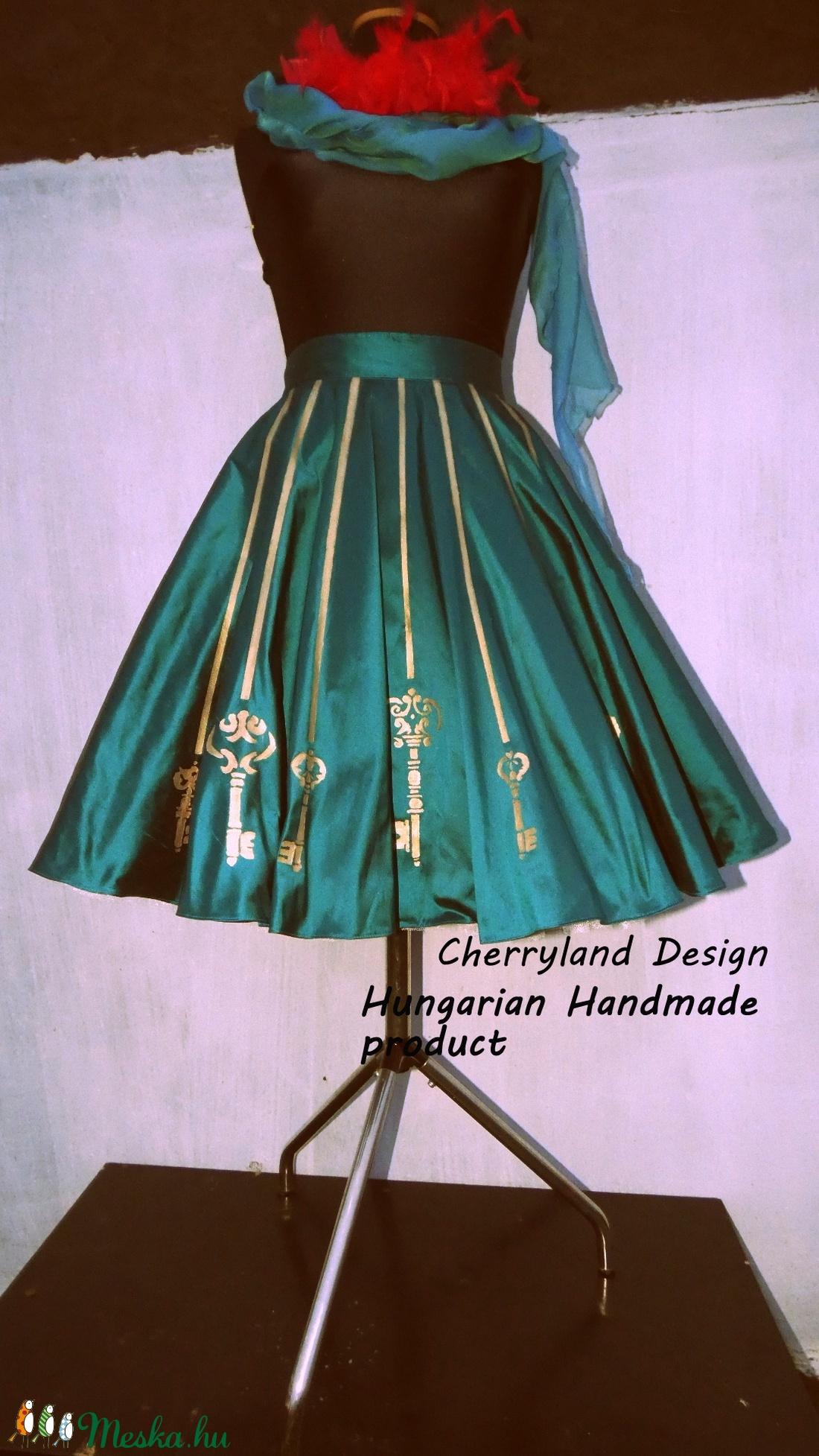 Cherryland Design Kulcsos Szoknya  /Alsószoknya. - ruha & divat - női ruha - szoknya - Meska.hu