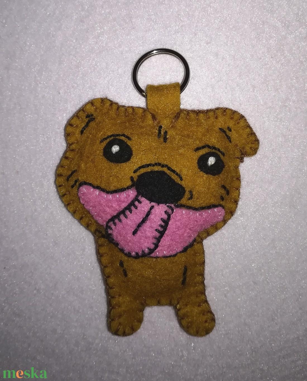 Amstaff, amerikai staffordshire terrier kulcstartó vagy táskadísz  - táska & tok - kulcstartó & táskadísz - kulcstartó - Meska.hu