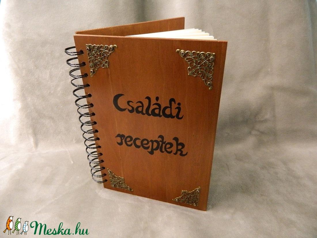 Receptes könyv (Tizsuarte) - Meska.hu