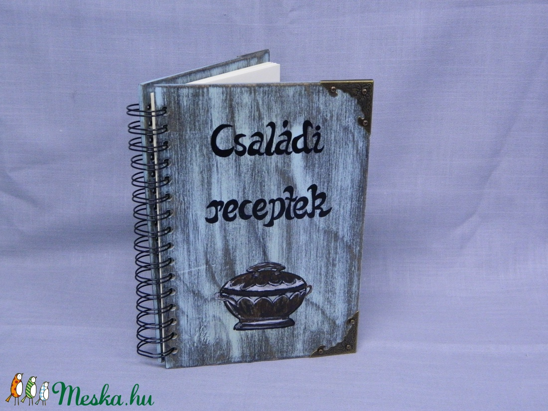 Receptes Könyv - Meska.hu