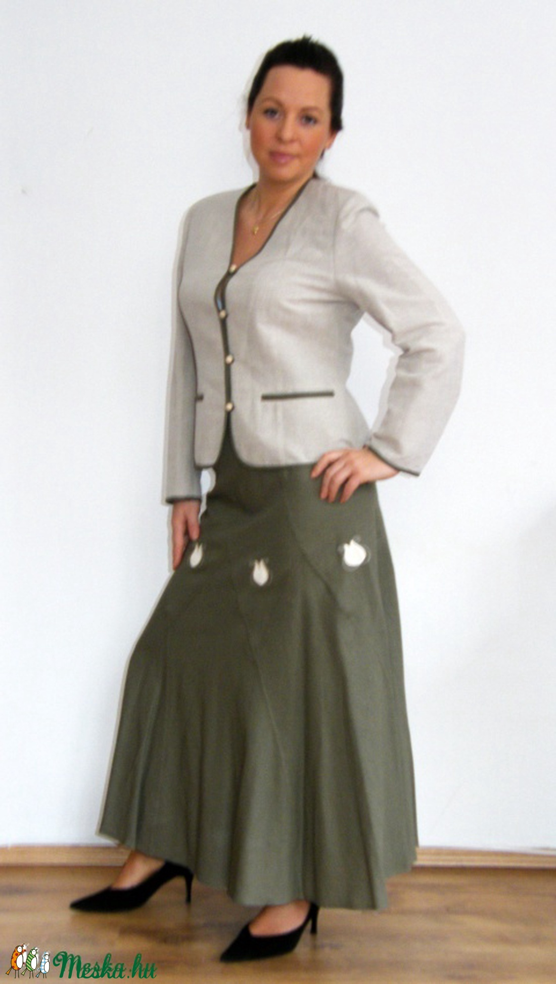 Tulipános kosztüm (Tulidesign) - Meska.hu ca5730a9e4