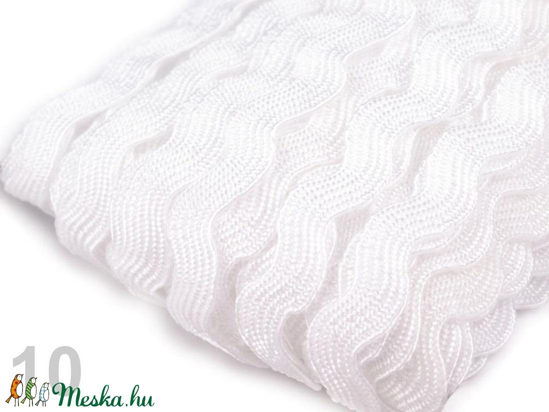 Farkasfog szalag paszomány - 9 mm-es - textil - szalag, pánt - Meska.hu