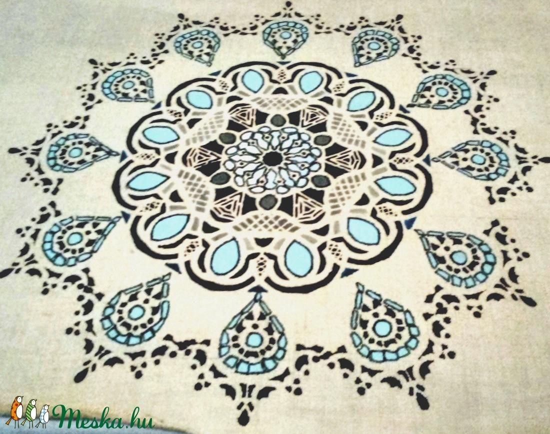 Mandala vászon díszpárna (Universalcanvas) - Meska.hu