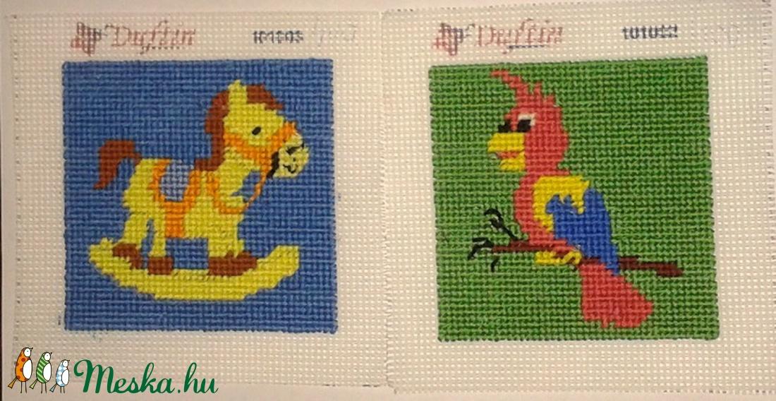 Hintalo és papagáj (vadrozsa49) - Meska.hu