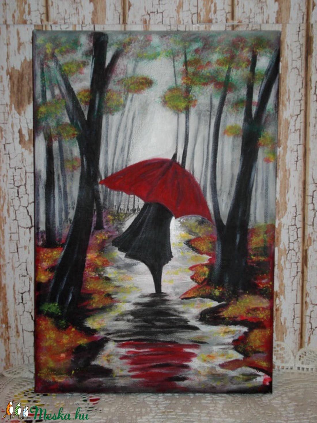 Séta az esőben (vanda0110) - Meska.hu
