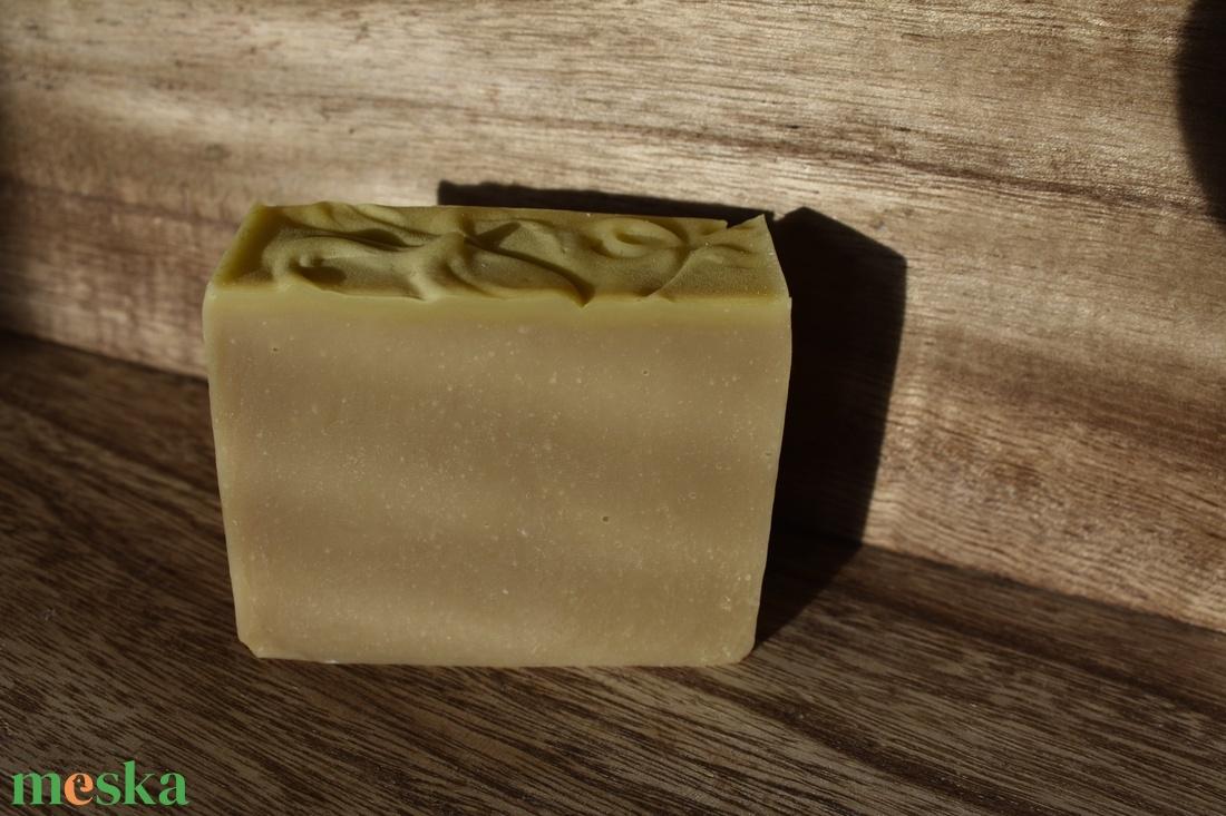 Sampon szappan borsmentával, és csalánnal - szépségápolás - szappan & fürdés - kézműves szappan - Meska.hu