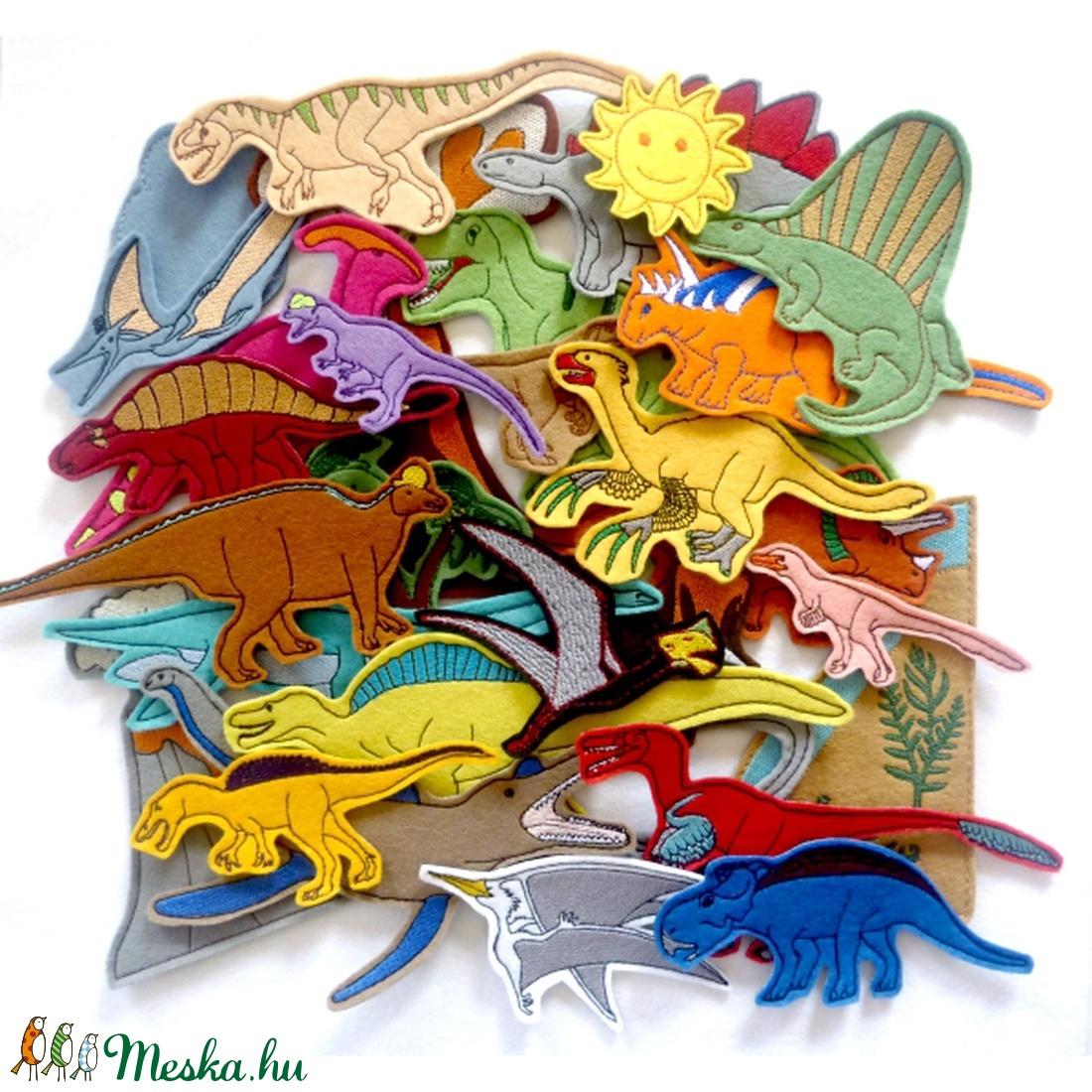Dinoszaurusz kollekció - 30 darab figura (Vavilokids) - Meska.hu