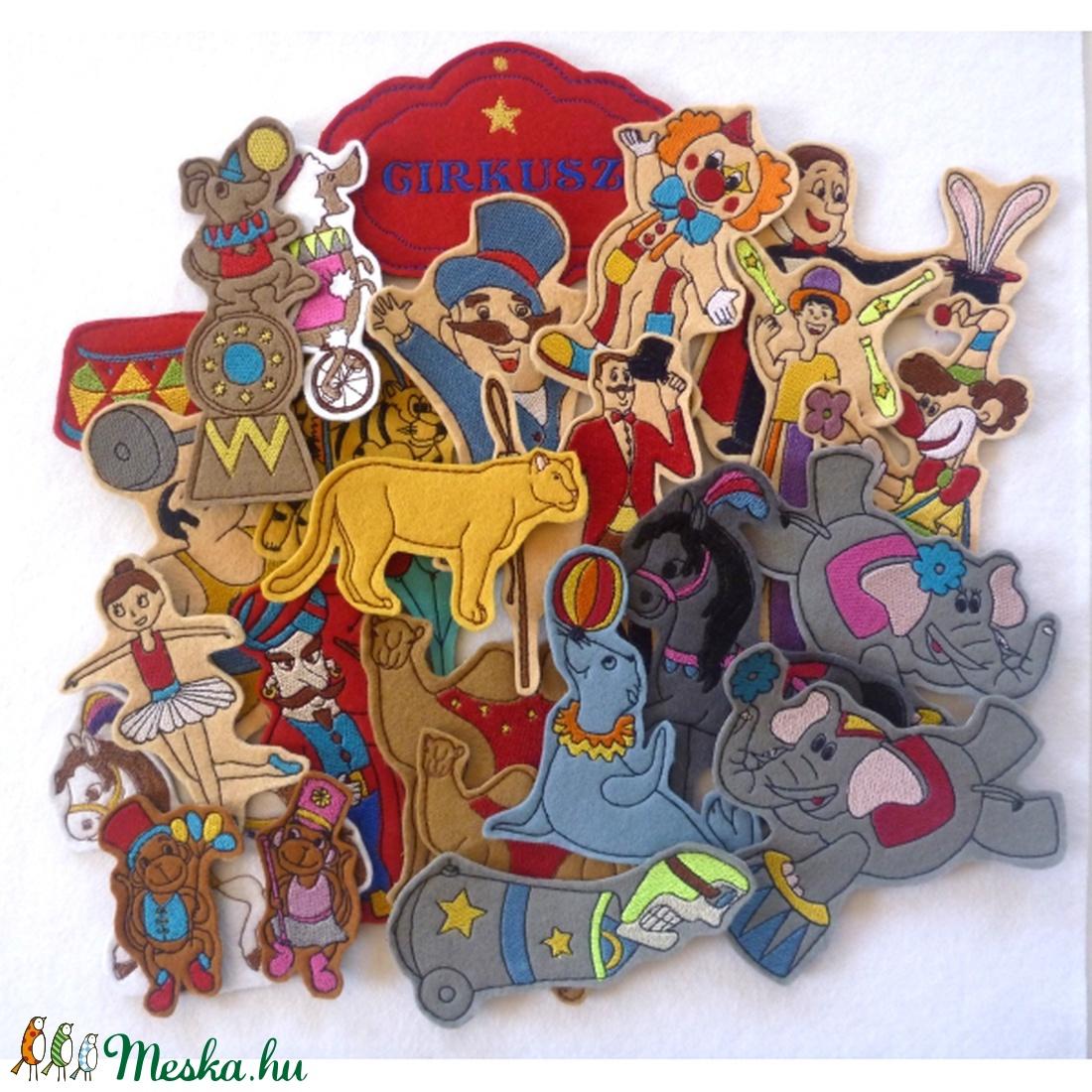 Cirkusz kollekció - 30 darab figura (Vavilokids) - Meska.hu