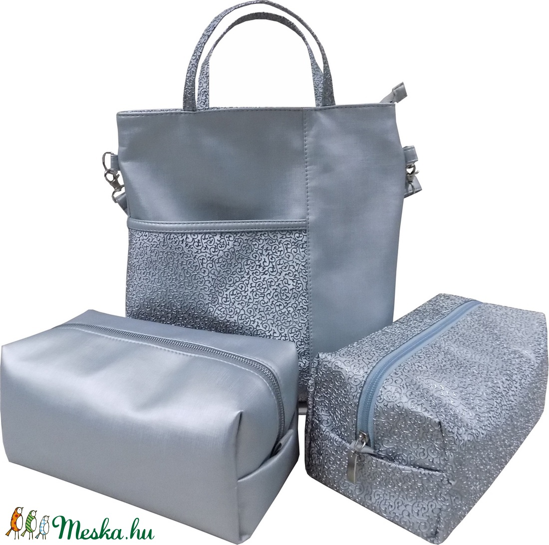 Ezüst táska szett (Vehrdesign) Meska.hu