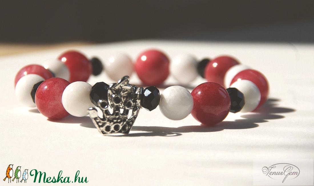 Tedd fel a koronát! karkötő - Top off the crown! bracelet - Meska.hu