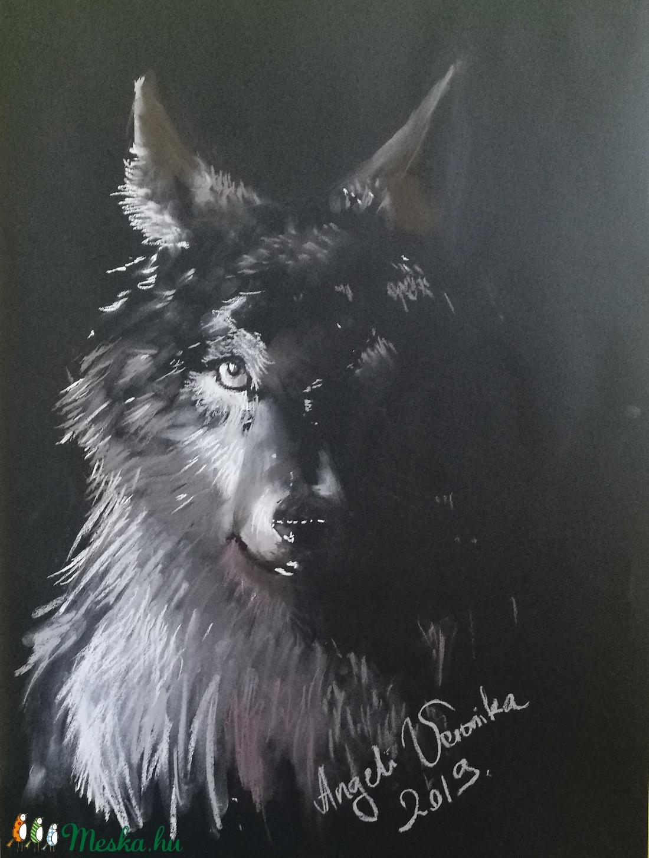 Farkas az árnyékban (vercs90) - Meska.hu