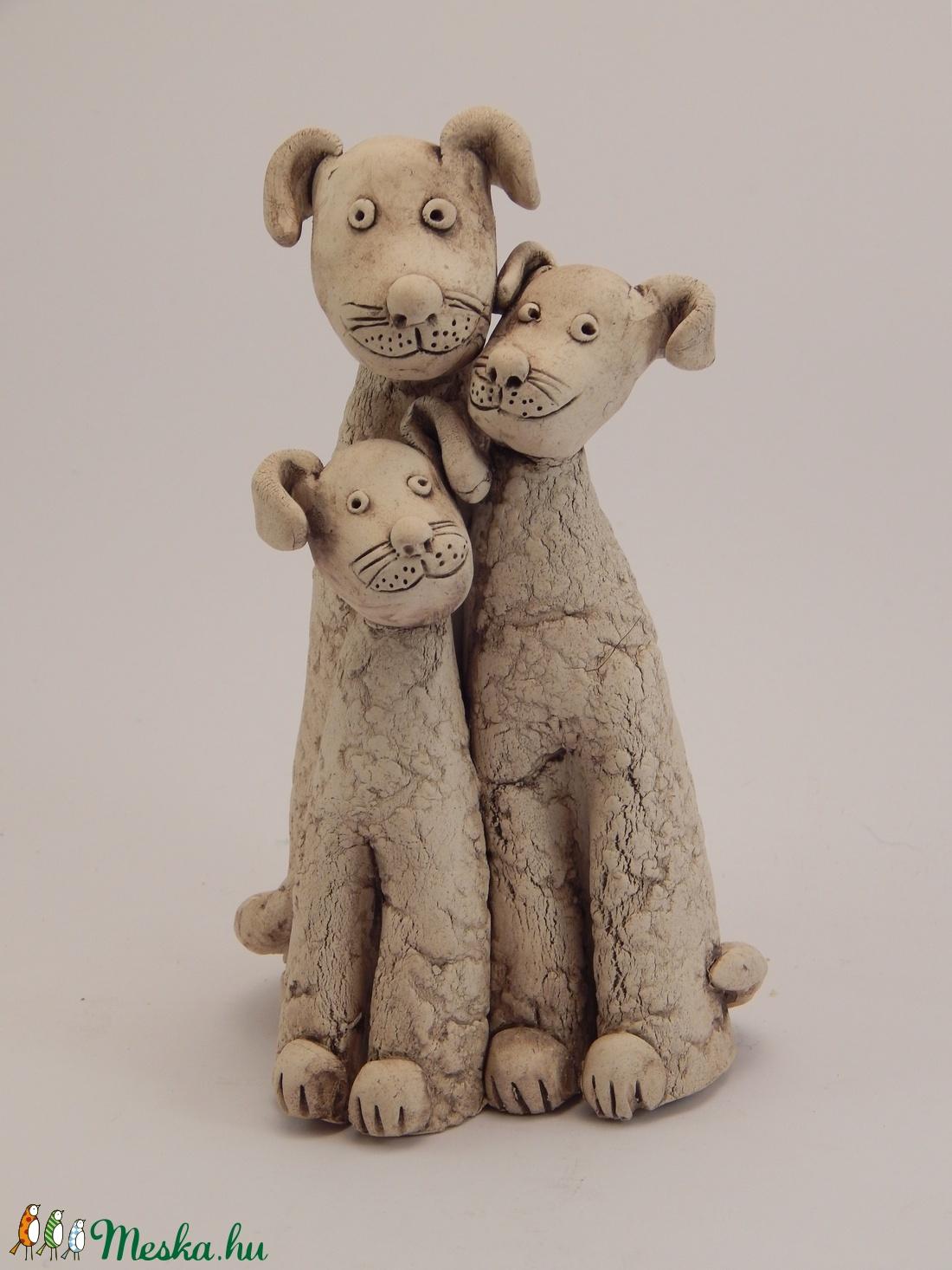 Kutya család (Vevikeram) - Meska.hu