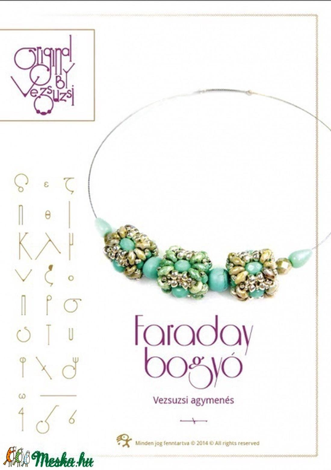 Faraday nyaklánc bogyókból... minta egyéni felhasználásra (vezsuzsiminta) - Meska.hu