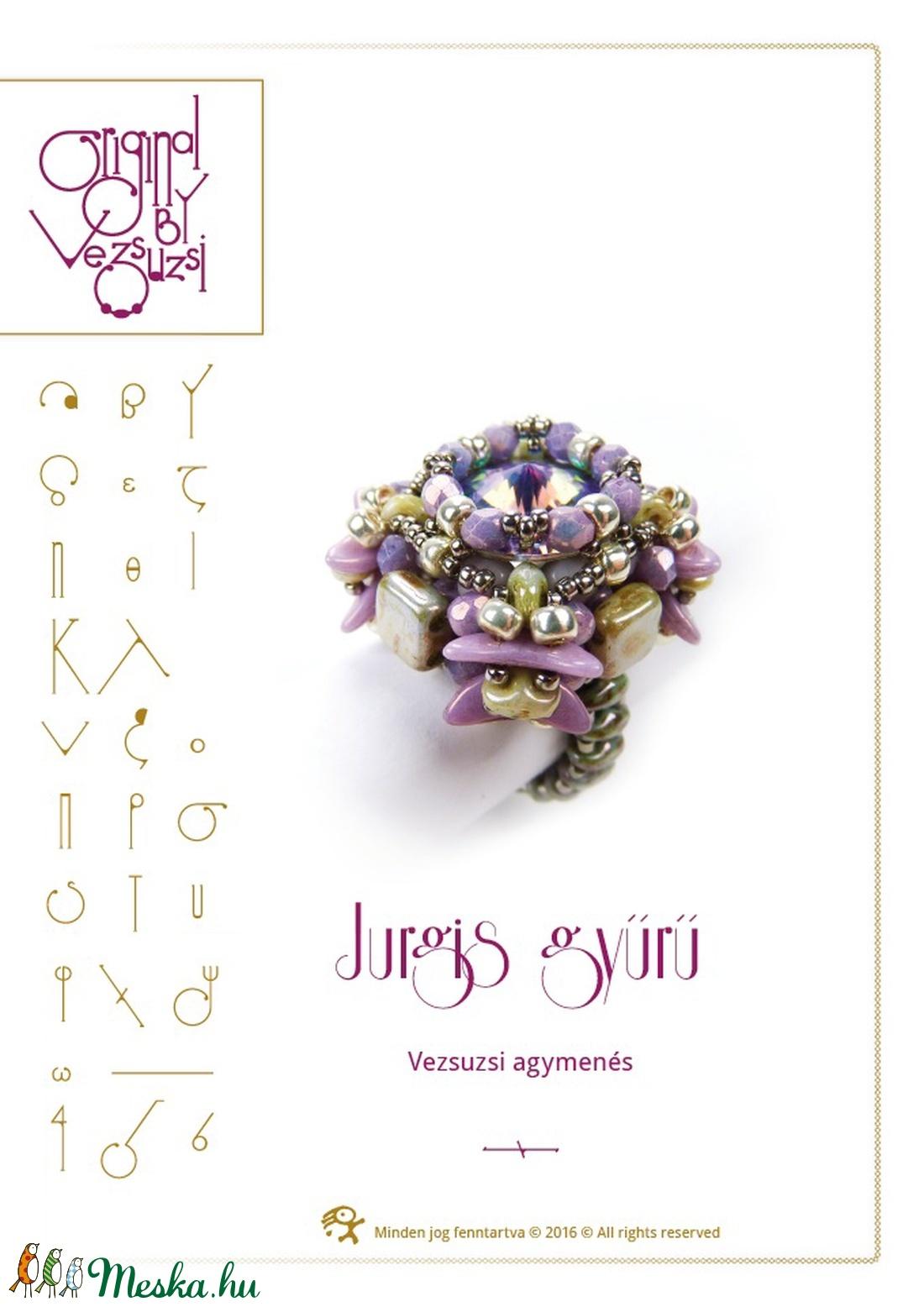 Jurgis gyűrű... minta egyéni felhasználásra (vezsuzsiminta) - Meska.hu