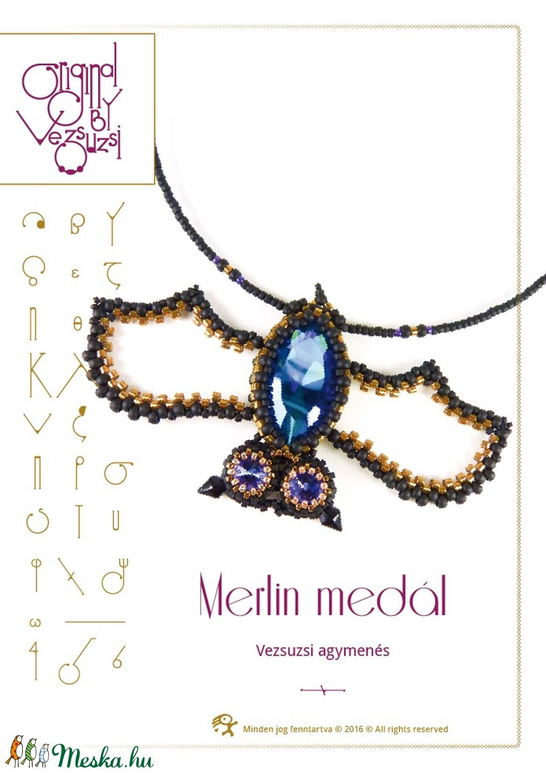 Merlin a denevér minta egyéni felhasználásra (vezsuzsiminta) - Meska.hu