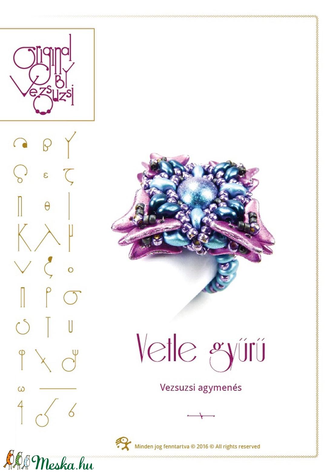 Vetle gyűrű... minta egyéni felhasználásra (vezsuzsiminta) - Meska.hu