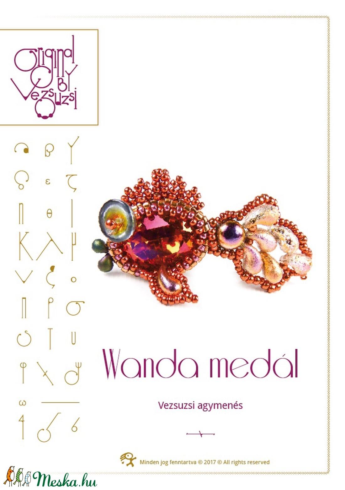 A hal neve Wanda... minta egyéni felhasználásra (vezsuzsiminta) - Meska.hu