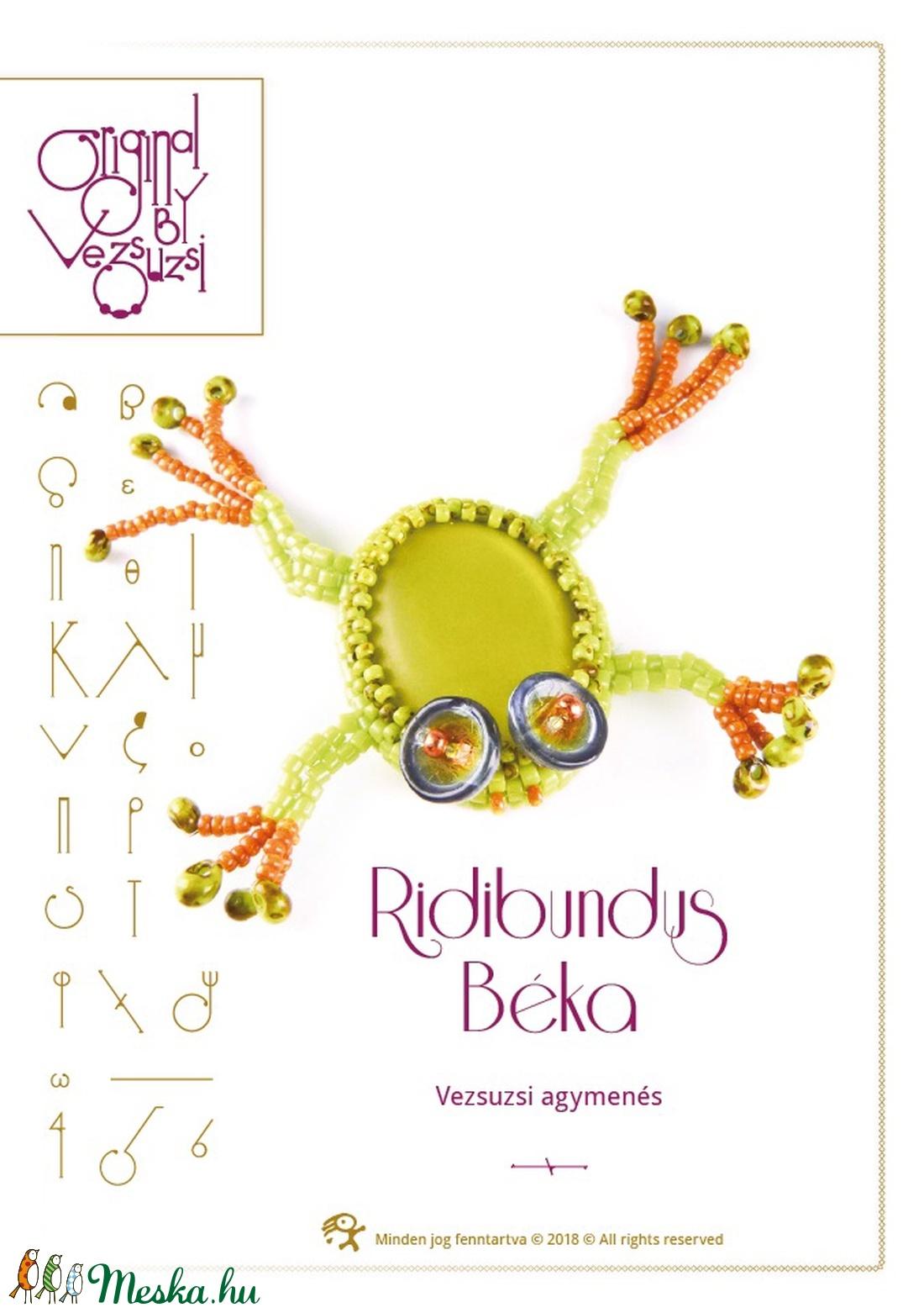 Ridibundus a béka... minta egyéni felhasználásra (vezsuzsiminta) - Meska.hu