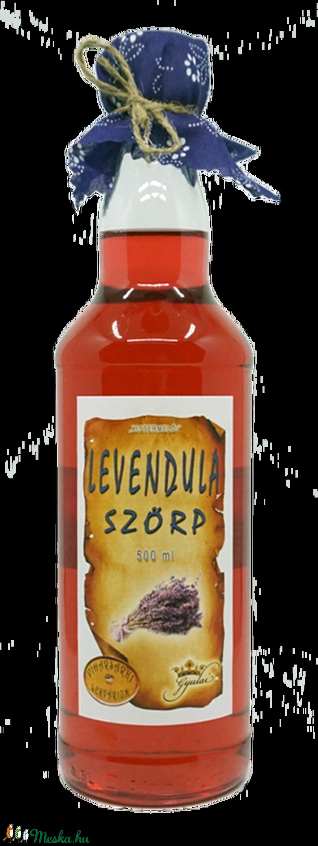 Levendulavirág szörp (500 ml) (viharsarkilekvariu) - Meska.hu