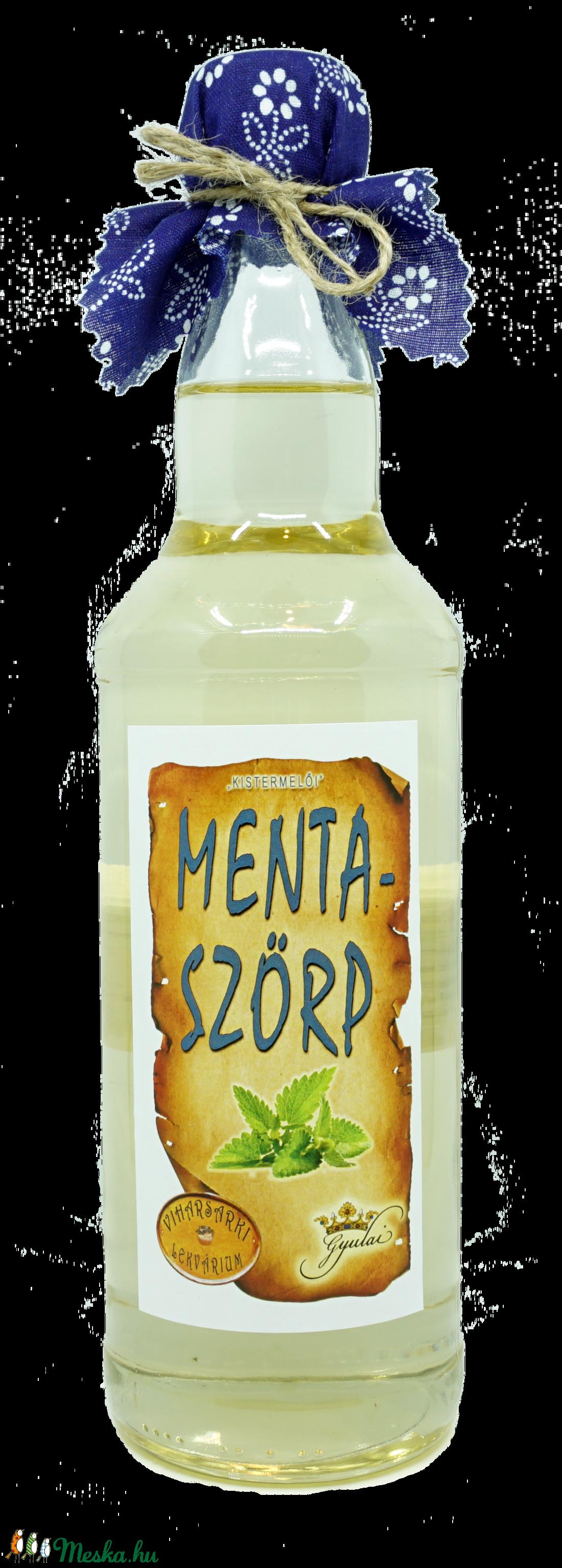 Menta szörp (500 ml) (viharsarkilekvariu) - Meska.hu