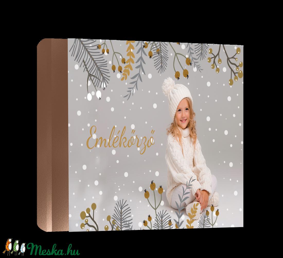 Fényképes karácsonyi fotókönyv (VintageVolgy) - Meska.hu
