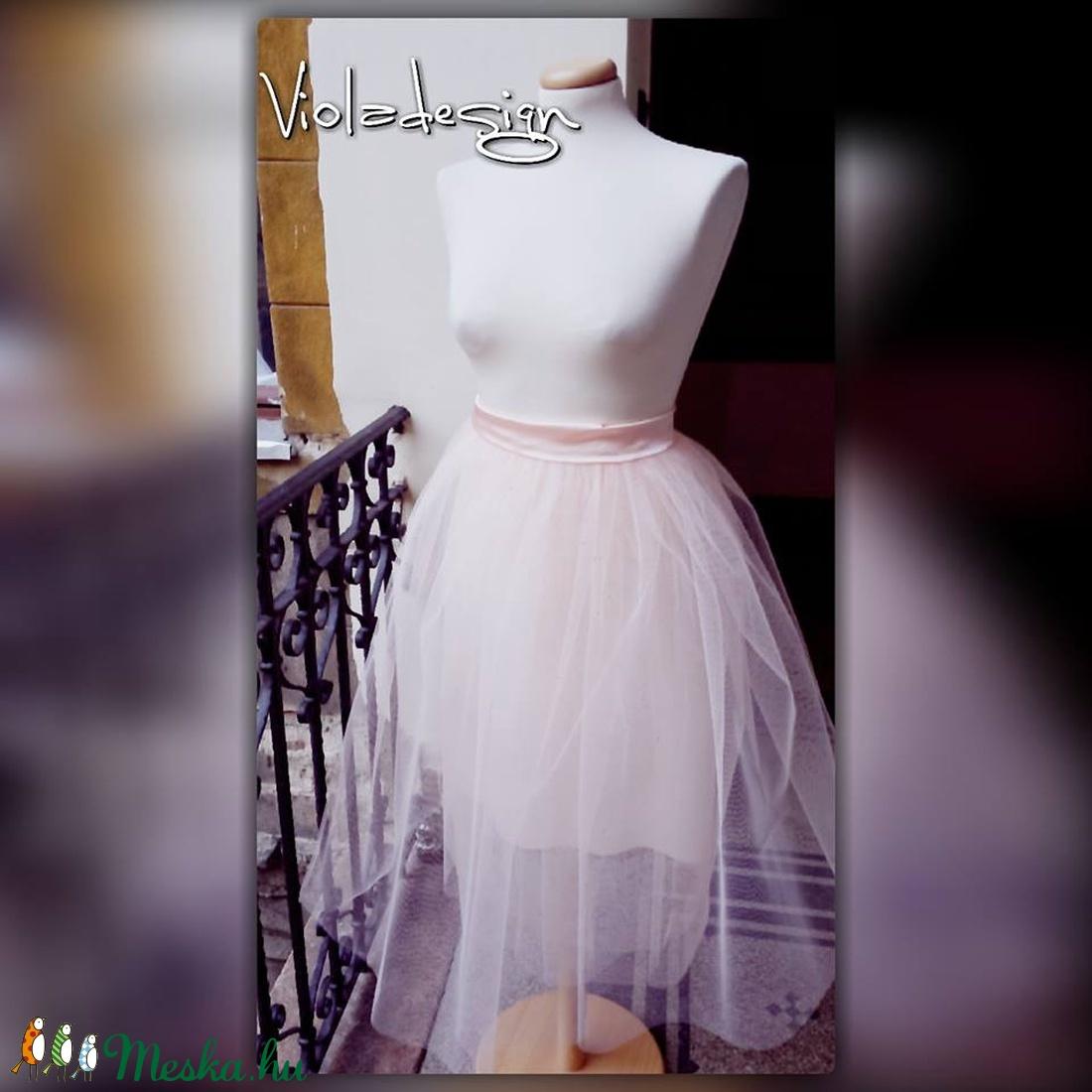 Shining Rose - tüll szoknya - ruha & divat - női ruha - szoknya - Meska.hu