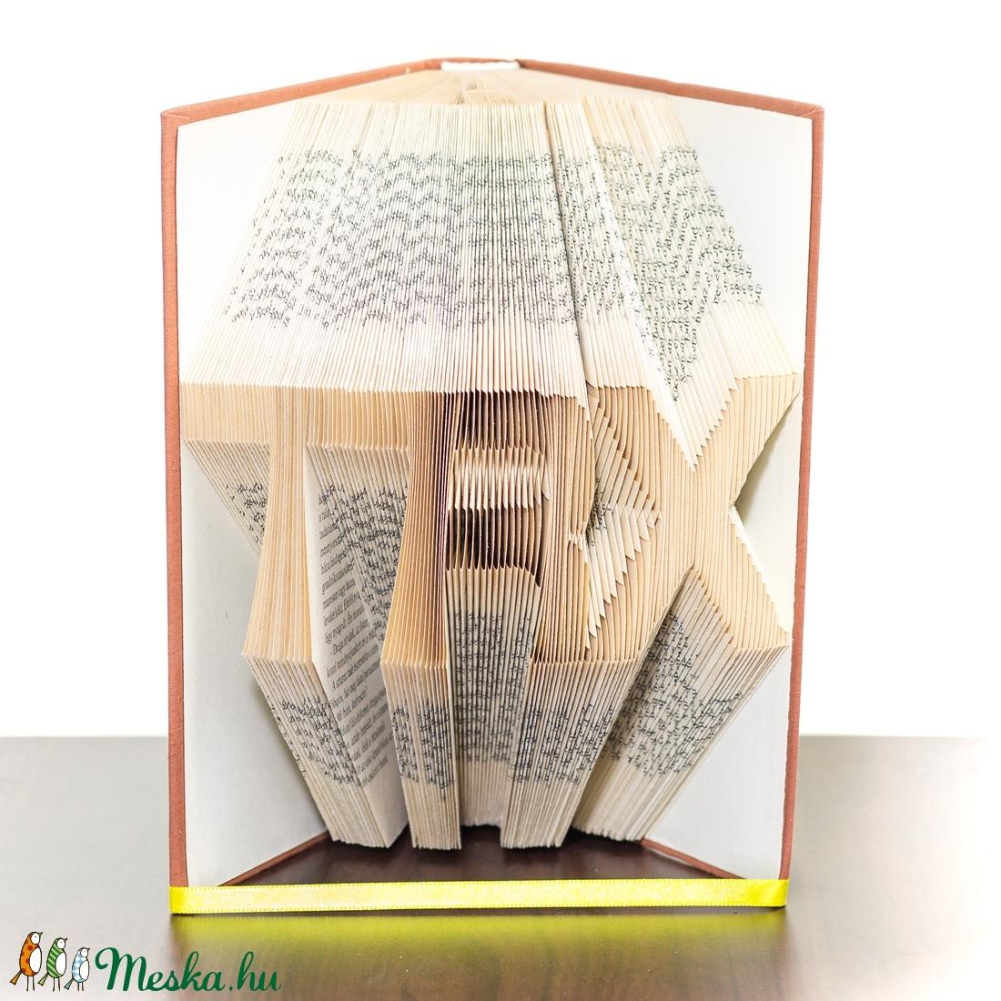 TRX feliratos könyvszobor, Sportolónak, Edzőnek,  (Wolfabric) - Meska.hu